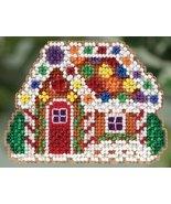 Gingerbread Cottage Winter 2015 seasonal ornament kit cross stitch Mill ... - $6.75