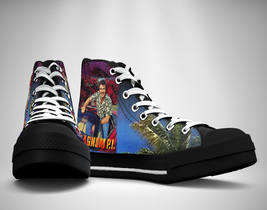 Magnum P I 80s Tv show Canvas Sneakers Shoes - $29.99