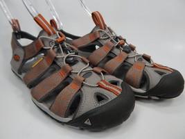 Keen Clearwater CNX Sport Sandals Men's Size 9 M EU 42 Gray / Orange
