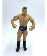 WWE Batista Wrestling Action Figure Blue Silver Trunks 2003 Jakks Pacific - $12.99