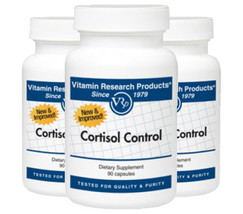 Cortisol Control- 90 caps 3 Pack!!  by Vitamin Research Products
