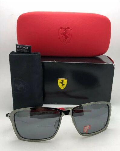 Polarisiert Oakley Sonnenbrille Scuderia Ferrari Tincan OO4082-09 Schwarz Chrom image 2