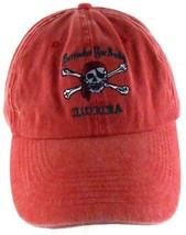 Surrender Your Booty Florida Skull Crossbones Distressed Strapback Cap H... - $17.81