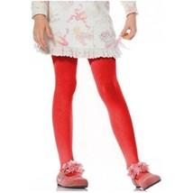 Children's Red Tights Hosiery Large 7-10 Leg Avenue - $3.99