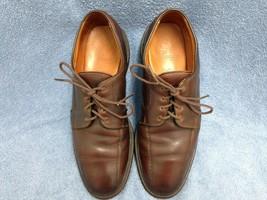 Allen Edmonds Mapleton Brown Leather Lace Up Oxfords Men's Size 10 D - $28.32