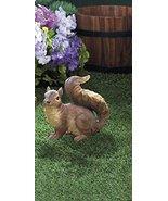 Squirrels Garden Decor Charming Curious Garden Squirrel Statue - $18.51