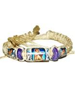 """3 NEW Cherub Angel 12"""" Hemp Bracelets Anklets wrist jewelry - $8.99"""