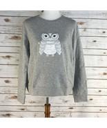 Women's Kate Spade Broome St Owl Give a Hoot Sweatshirt sz M,L,XL - $115.07