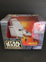 Micro Machine Star Wars Imperial Shuttle Tydirium w/ Han Solo & Chewbacca 95 Nip - $28.97