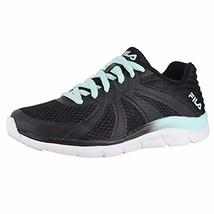 Fila Women's, Memory Fraction 3 Running Sneakers (9 M US|Black/White/Aqua) - $55.74