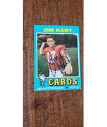 1971 TOPPS SIGNED AUTO CARD JIM HART ST LOUIS CARDINALS SOUTHERN ILLINOI... - $9.99