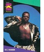 M.C. Hammer trading Card (Musician) 1991 Proset Musicards Super Stars #125 - $3.00