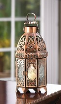Copper Moroccan Candle Lamp - $34.96