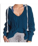 Free People Free People Cable Knit Hoodie Size M - $109.99