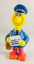 vtg Sesame Street Big Bird Mailman  PVC Figure by Applause 4 inch rare c... - $10.00