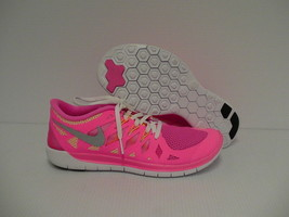 Women's Nike free 5.0 (GS) running shoes size 6 Youth Pink - $78.88