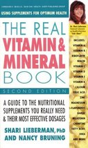 The Real Vitamin and Mineral Book: Using Supplements for Optimum Health,... - $2.31