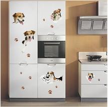 Miico 3D Creative PVC Wall Stickers Home Decor Mural Art Removable Dog D... - $27.47