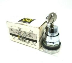 NEW SQUARE D 9001-KS11K1 KEYED SELECTOR SWITCH SER.J 9001KS11K1 - $145.00
