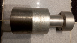 KU band feed horn adapter to C band feed horn - $75.00