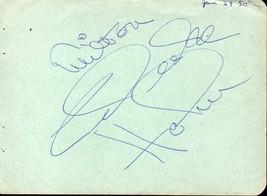 CELESTE HOLM Autograph. Signed on album page. - $15.34