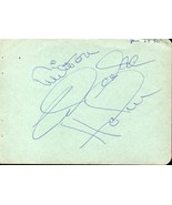 CELESTE HOLM Autograph. Signed on album page. - $15.34