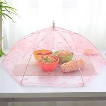 Hexagon Gauze Food Cover Umbrella Style Picnic ... - $4.74
