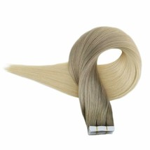 Full Shine Tape In Remy Hair Extensions 14 Inch Ombre  #18/60 20 pices / 50grams - $49.35