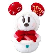 Tokyo Disney Resort Snow Snow Minnie mouse plush doll Snowman Doll 33cm - $88.11