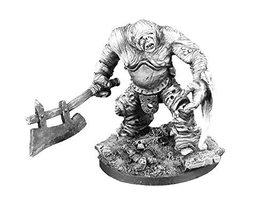 28mm Scale Miniatures - : Big Troll (55-60mm)