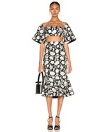 2019 NEW AUTHENTIC ALEXIS Reece Skirt in Ivory Floral Embroidery $447 - $152.15