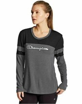 Champion Women's Long Sleeve Relax Fit T-Shirt w/Mesh Front - 4 COLORS -... - $30.39
