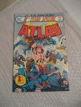 ATLAS #1 vf condition 1975 a dc comic book - $9.99