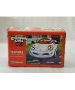 RARE! VINTAGE CHEVRON CAR SAM SEDAN 1996 WHITE COLLECTIBLE CAR BY TECHRO... - $21.77