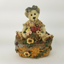 "Boyds Bears Bearstone Music Box I'll Have to Say I Love You Year 1994 5""... - $23.36"