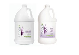 Matrix Biolage HydraSource Shampoo  Detangling Solution Duo Gallon - $100.69