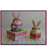White Chocolate Bunny Kit Pink Bow Kit easter s... - $20.00