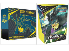 Pokemon Team Up Elite Trainer Box + Build & Battle Prerelease Kit Bundle image 1