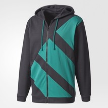 Adidas Originals Men's EQT Full-Zip Hoodie FREE SHIPPING CV8969 - $178.17