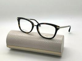 Jimmy Choo Eyeglasses JC218 086 Dark Havana 52-18-140MM Italy Case& Cloth - $77.57