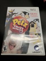 Ubisoft Petz Crazy Monkeyz Wii Game - CIB - $7.11