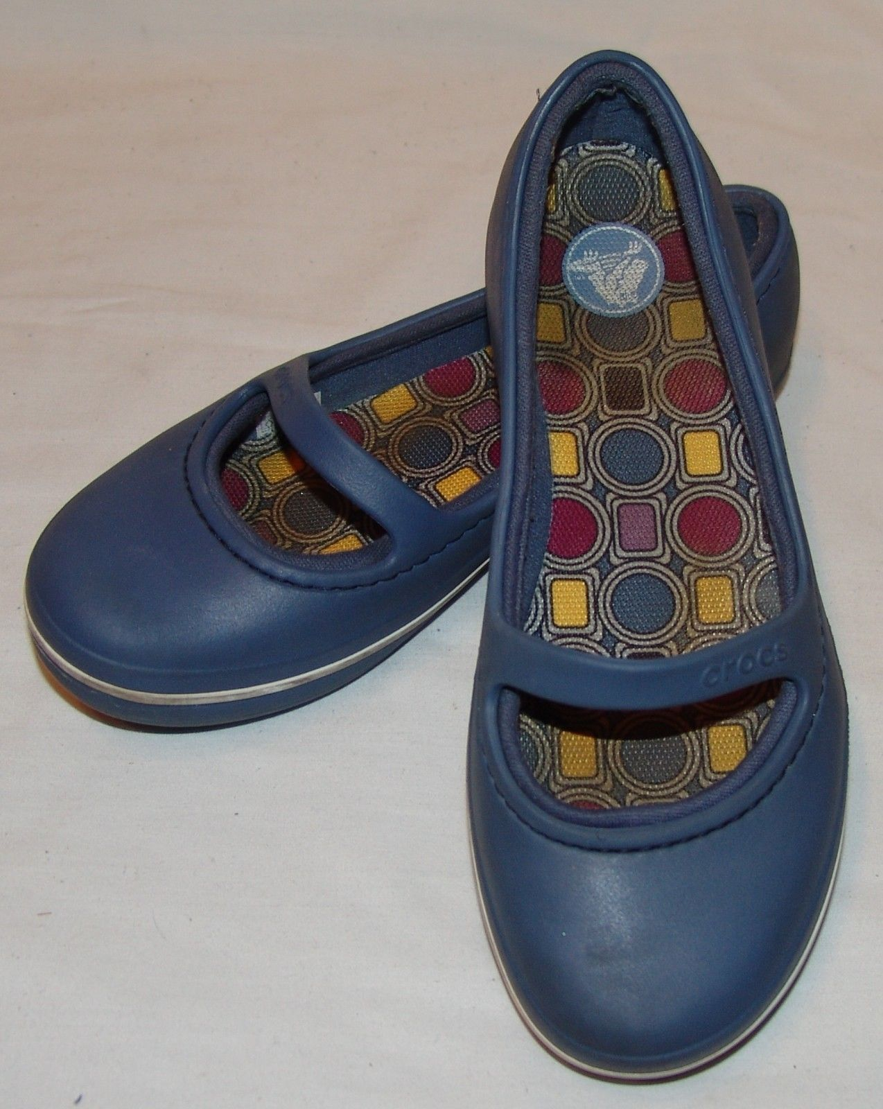 95e38002a11 Crocs Womens Blue Slip On Shoes 6 Mary Jane and 50 similar items. S l1600