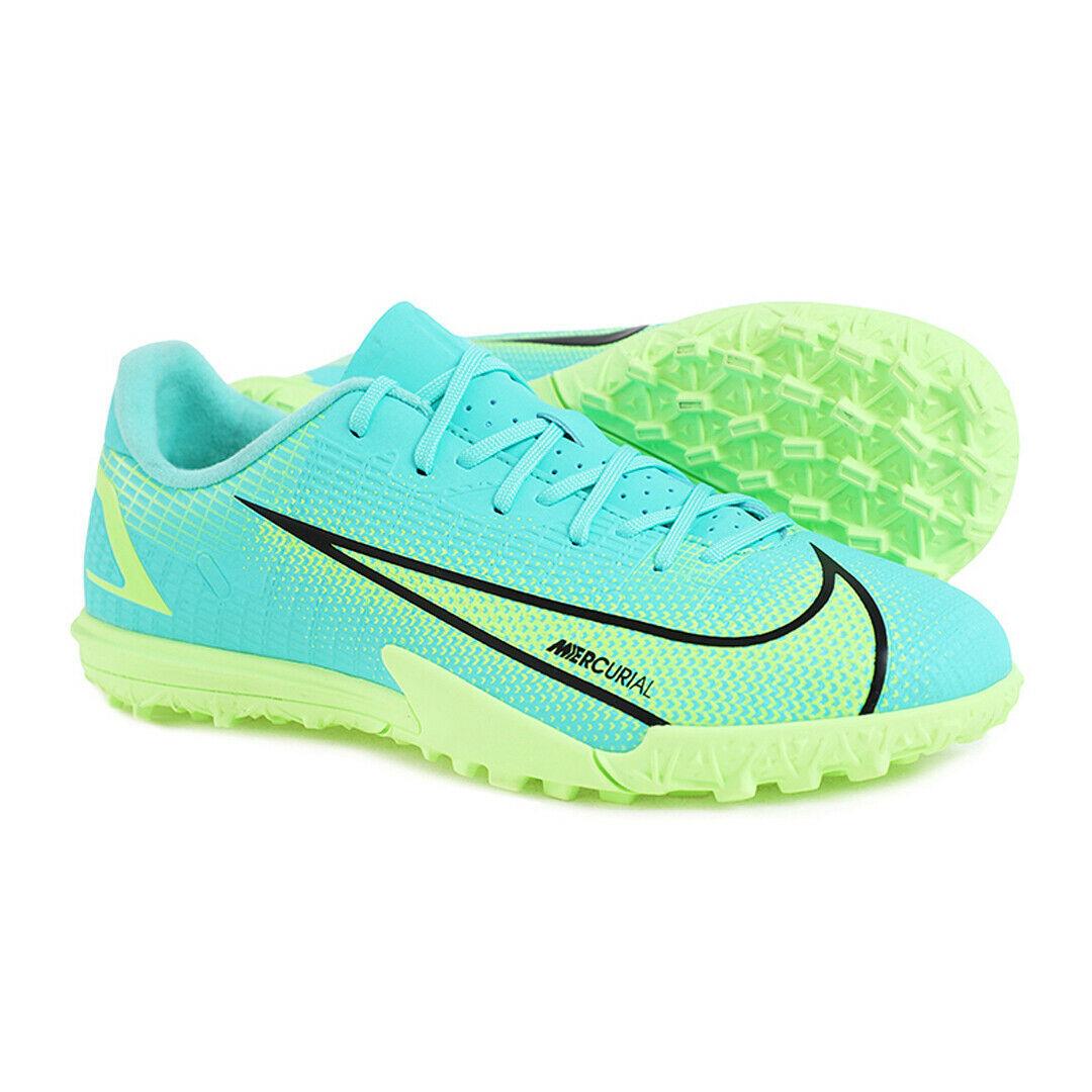 Nike Junior Mercurial Vapor 14 Academy Tf Football Boots Soft Comfort CV0822-403 - $83.99