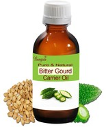 Bitter Gourd Pure & Natural Carrier Oil- 5 ml Momordica Charantia by Ban... - $8.45