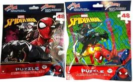Cardinal Marvel Spiderman Puzzles (Set of 2) Travel 48 Jigsaw Puzzles - $14.84