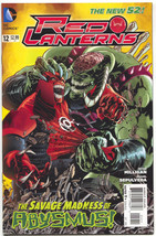 Red Lanterns 12 DC 2012 NM - $7.36