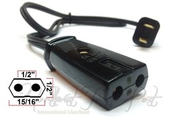 Replacement Power Cord for Superlectric Grill-Waffler Waffle Maker Iron ... - $14.95
