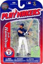 Josh Hamilton Texas Rangers Playmakers Figure NIB MLB 2011 McFarlane Ser... - $39.59
