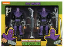 NECA Teenage Mutant Ninja Turtles Foot Soldiers Army Builder 2-Pack Bran... - $133.90