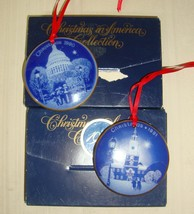 Bing & Grondahl 1990 Christmas in America The Capitol Building Ornament ... - $19.79